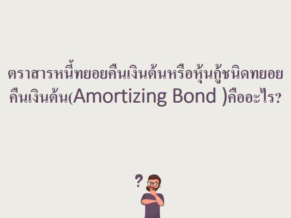 Amortizing Bond