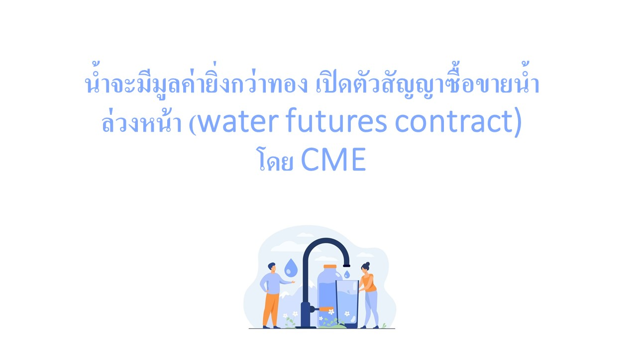 water futures contract